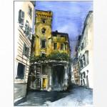 Street scene Rome
